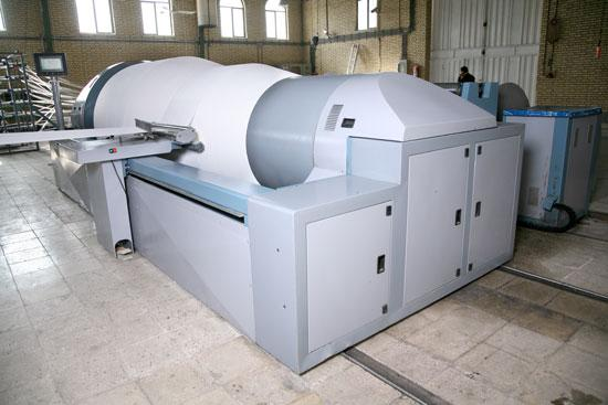 Sectional Warping Machine- Movable dip
